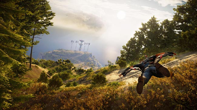 Стал известен размер игры Just Cause 3 на Xbox One